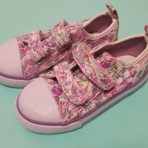 Sparkle Toddler Girls size 6 shoes